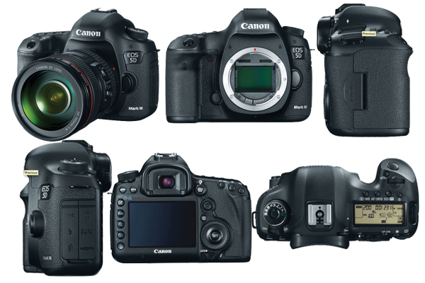 Canon EOS 5D Mark III Audio Specifications