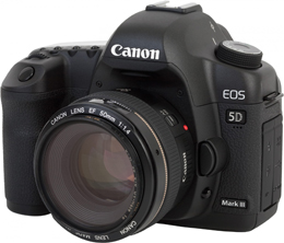 Canon EOS 5D Mark III: Audio Specifications