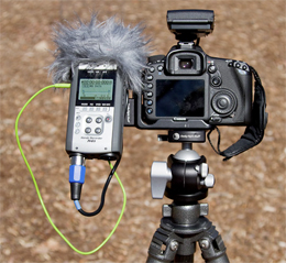 Filming with DSLR Cameras and External Audio