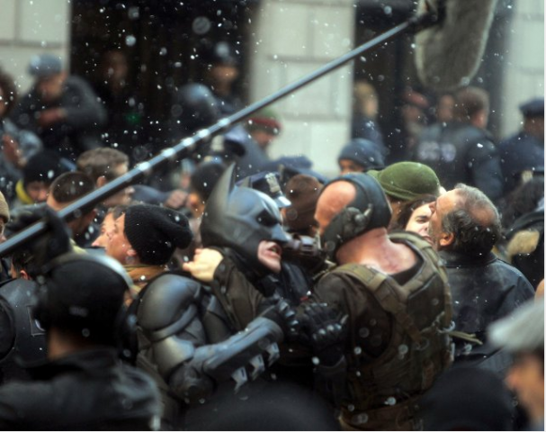 The Dark Knight Rises Production Photo