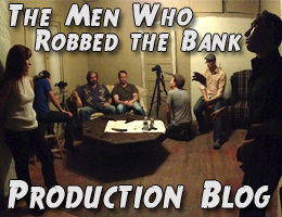 "Film Production Audio Blog: ""The Men Who Robbed the Bank"" – Day 5"