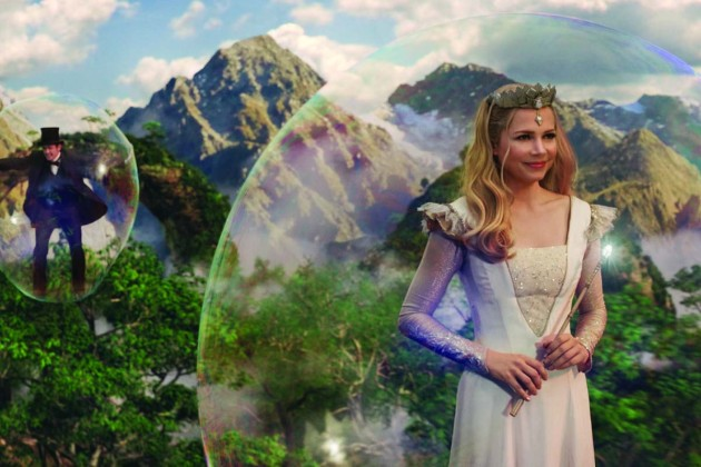 Oz the Great and Powerful Bubble Emeral City