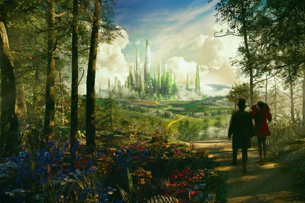 Oz the Great and Powerful Emerald City