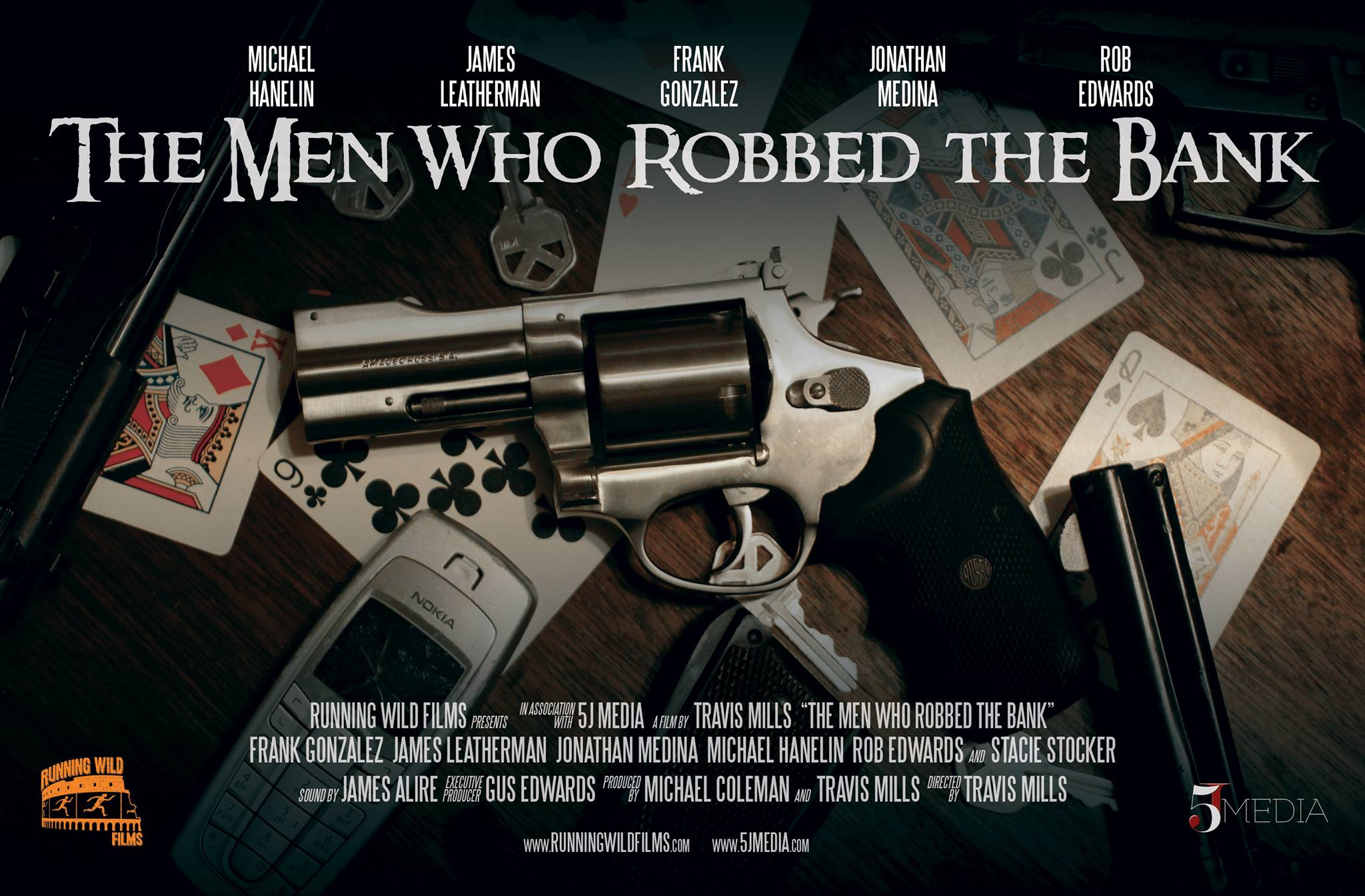 "James Alire Interview: Audio Engineer – ""The Men Who Robbed the Bank"""